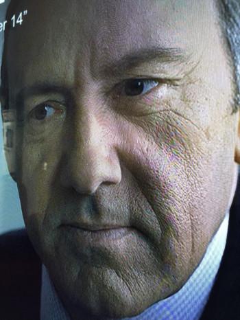Frank Underwood in Ultra HD on Netflix