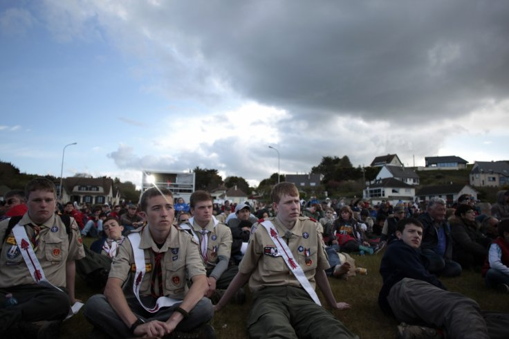 US and european boy scouts