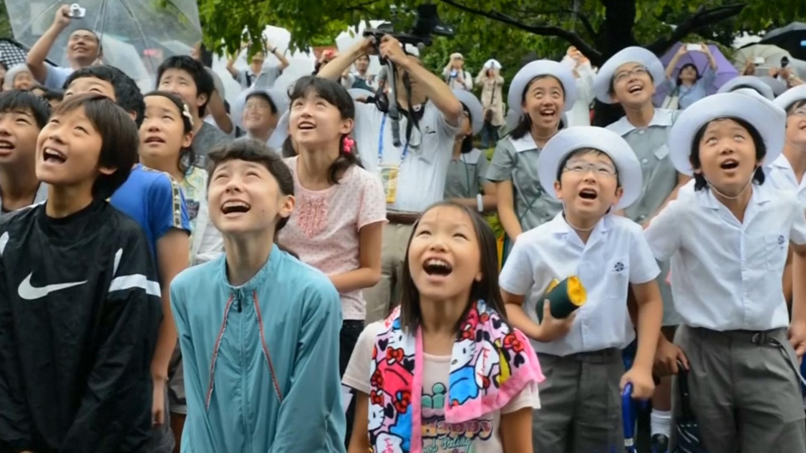 Leap second japan