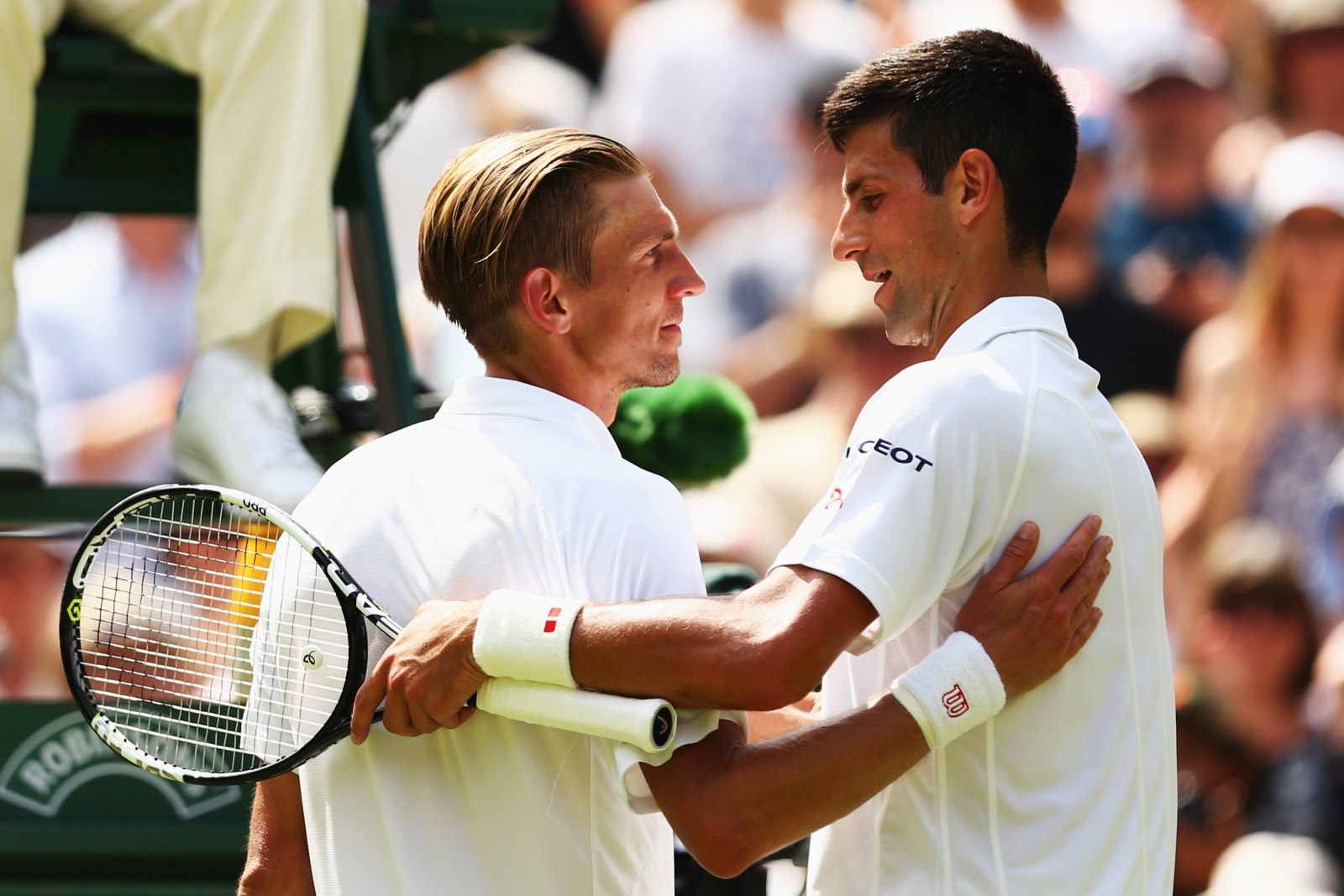 Novak Djokovic and Jarkko Nieminen