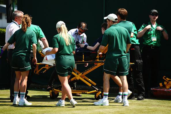 UK heatwave strikes Wimbledon