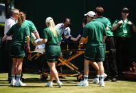 Wimbledon UK heatwave