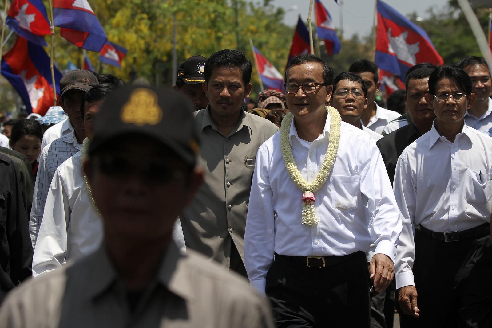 Sam Rainsy Cambodia