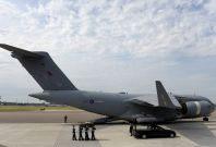 Repatriation at RAF Brize Nprton