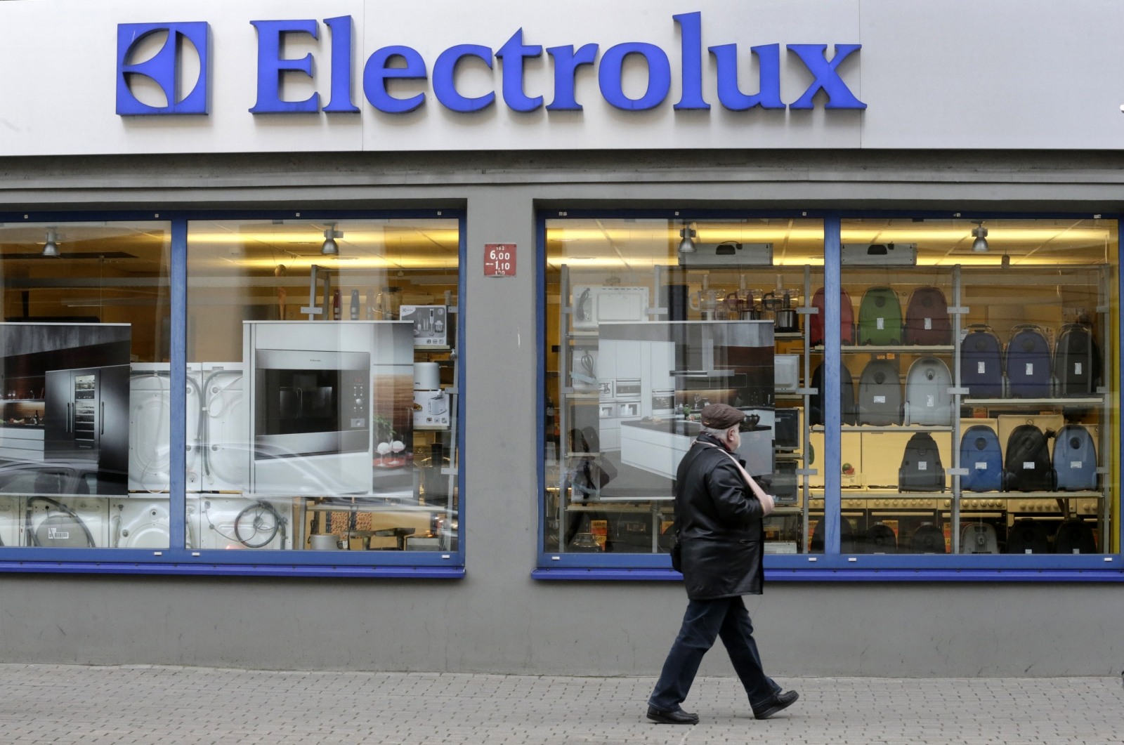 Electrolux shop in Riga