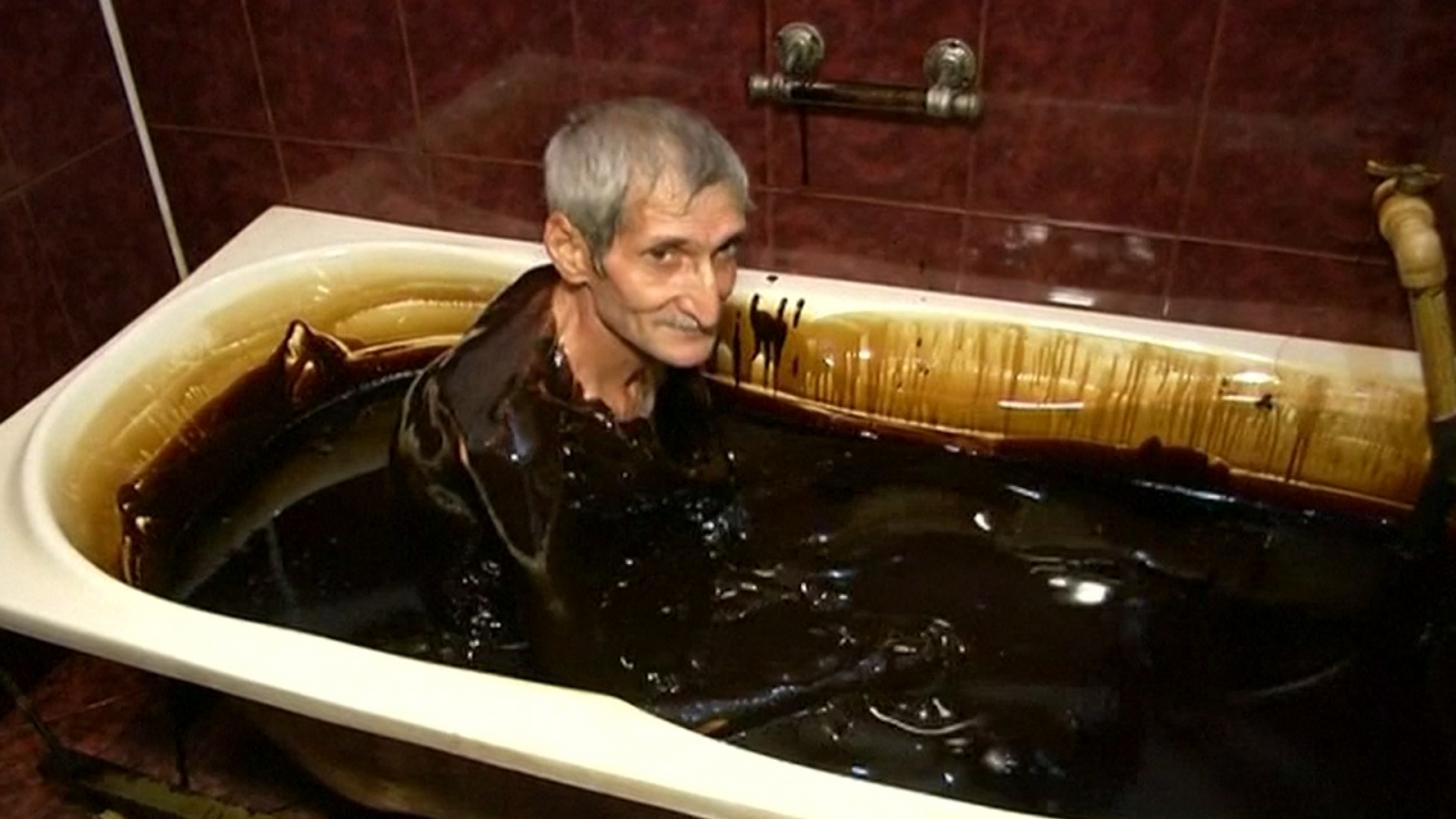 azerbaijan luxury spa lets its customers take a bath in