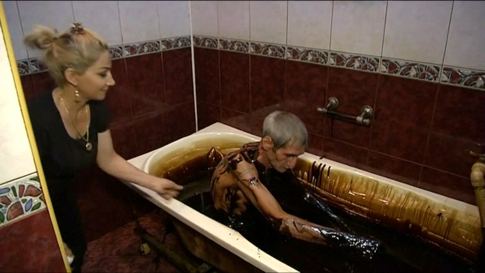 crude oil bath