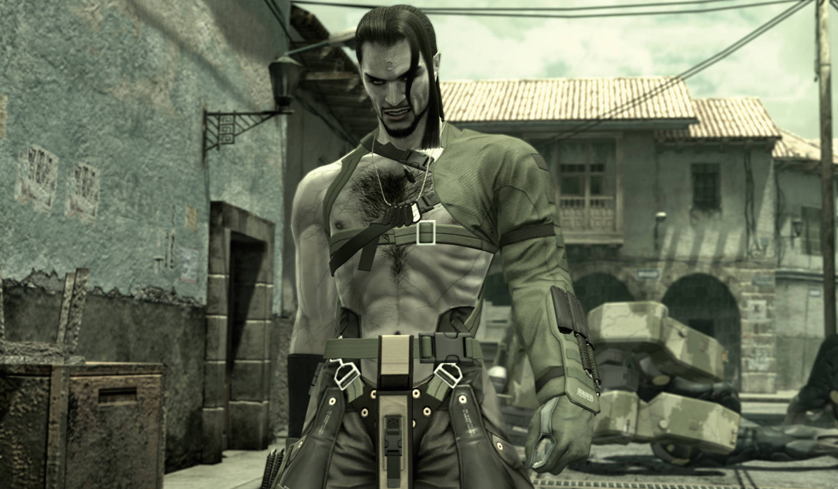 Vamp Metal Gear Solid MGS 4