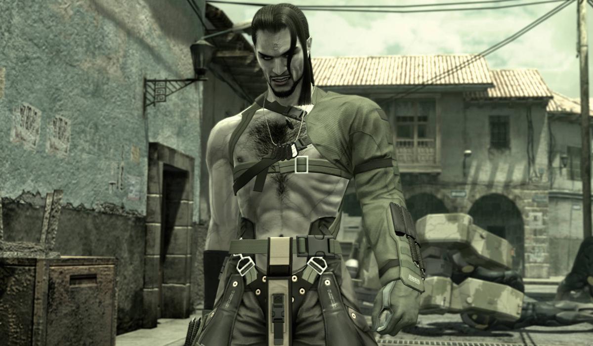 Vamp Metal Gear Solid MGS 4