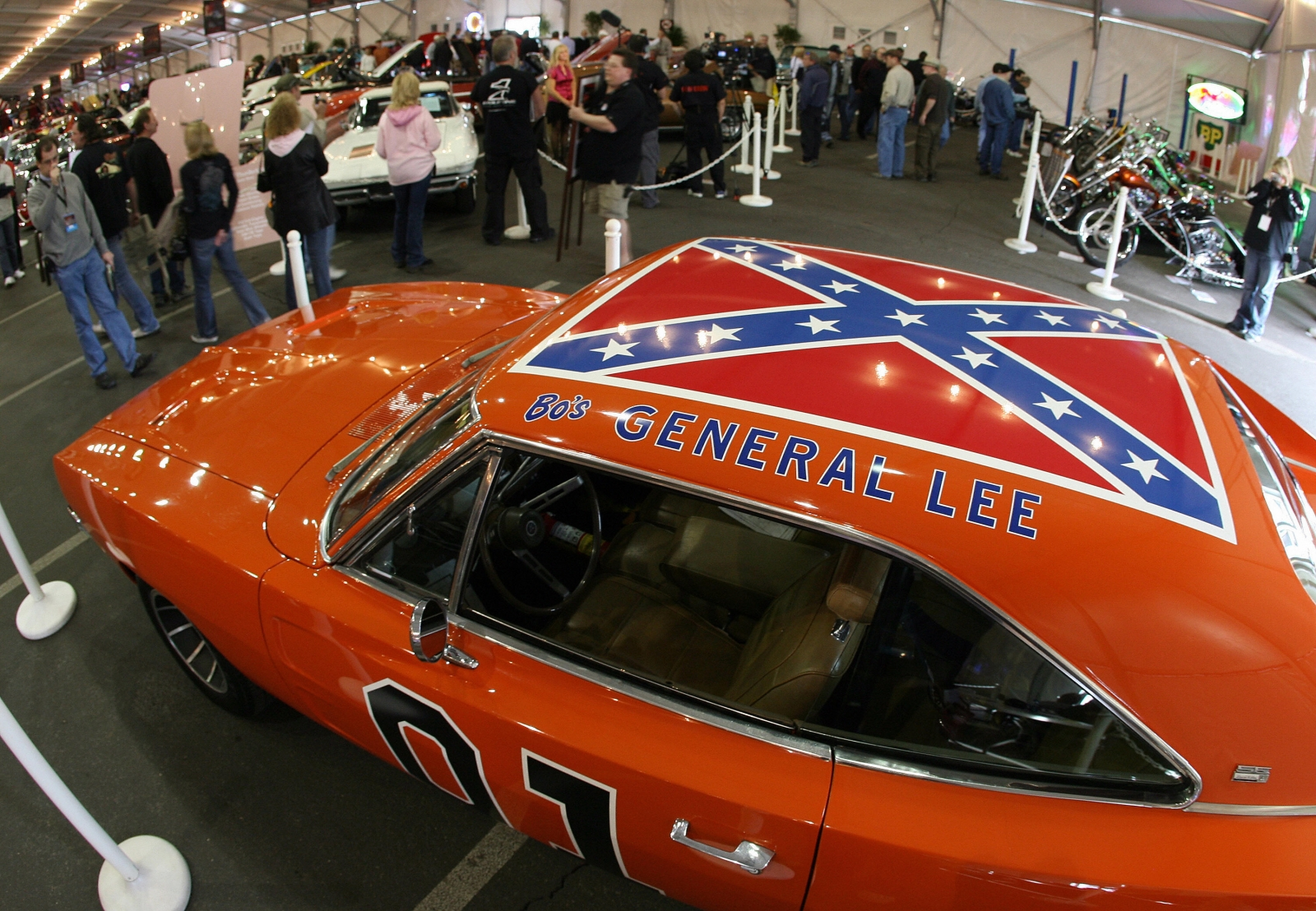 General Lee Dukes of Hazzard Confederate Flag