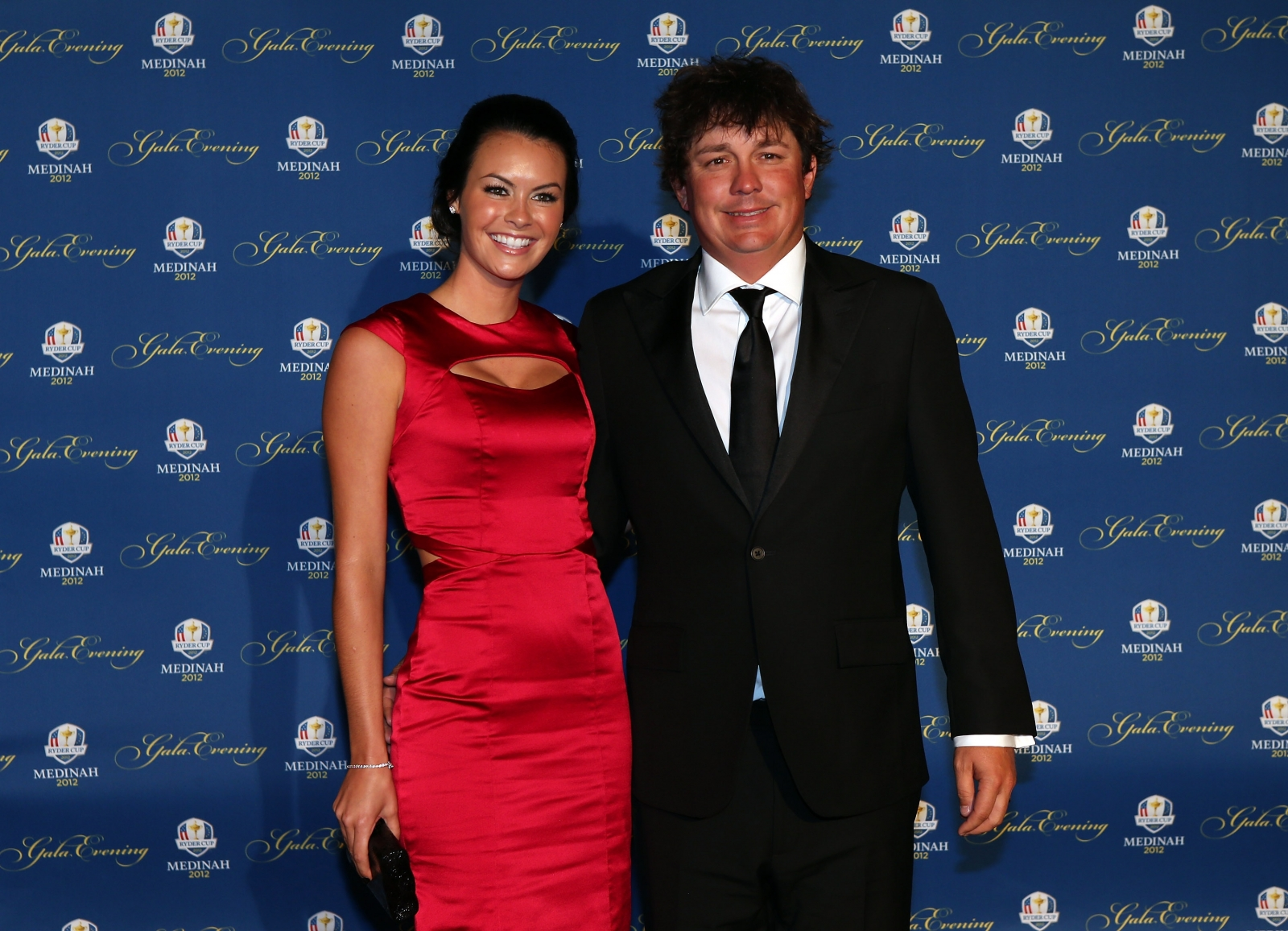 Jason Dufner with Amanda Boyd