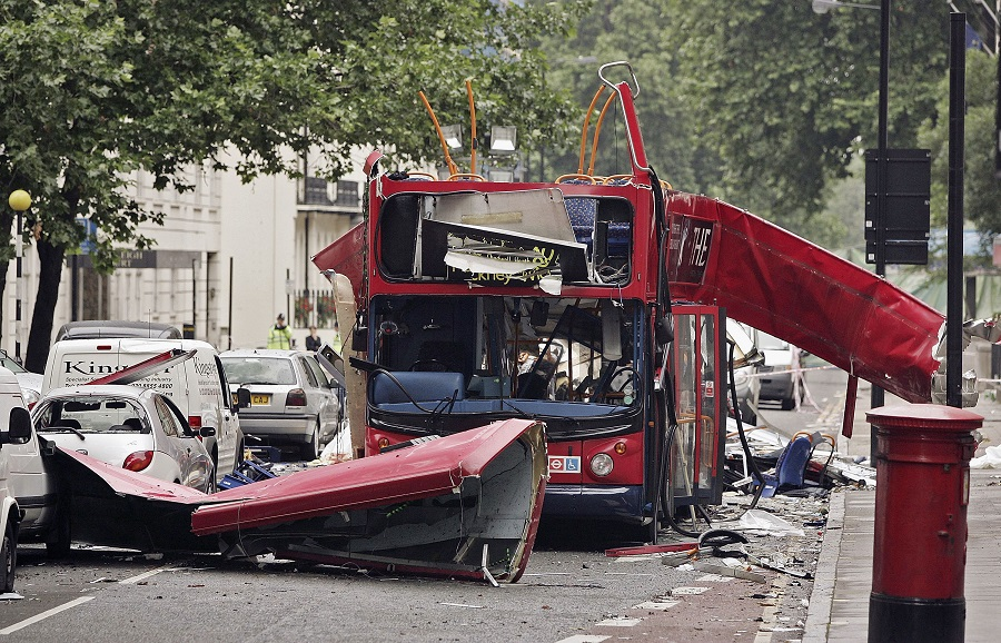 7/7 bus bomb