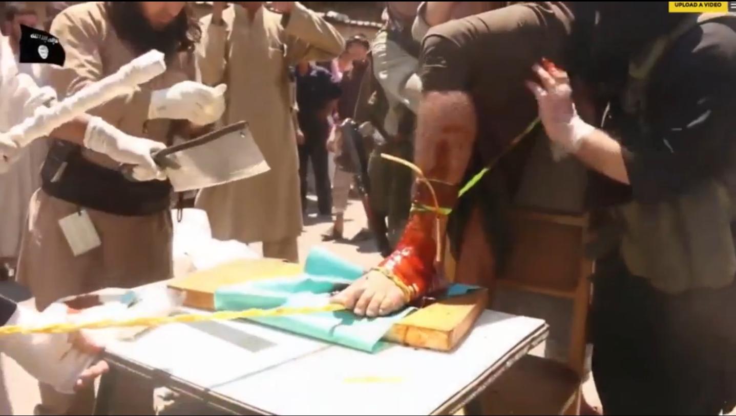 Isis punishment