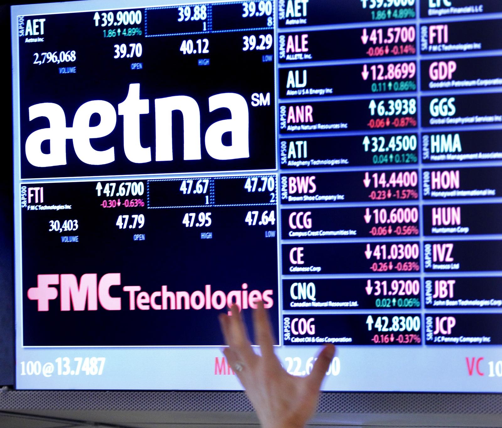 health insurer Aetna