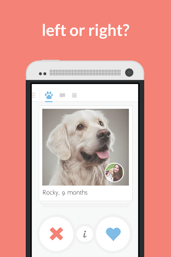 Tindog Tinder dating app dogs