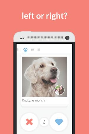 Tindog Tinder dating app dogs