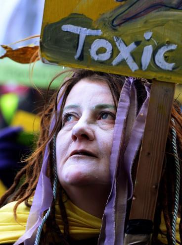 Lancashire fracking protests