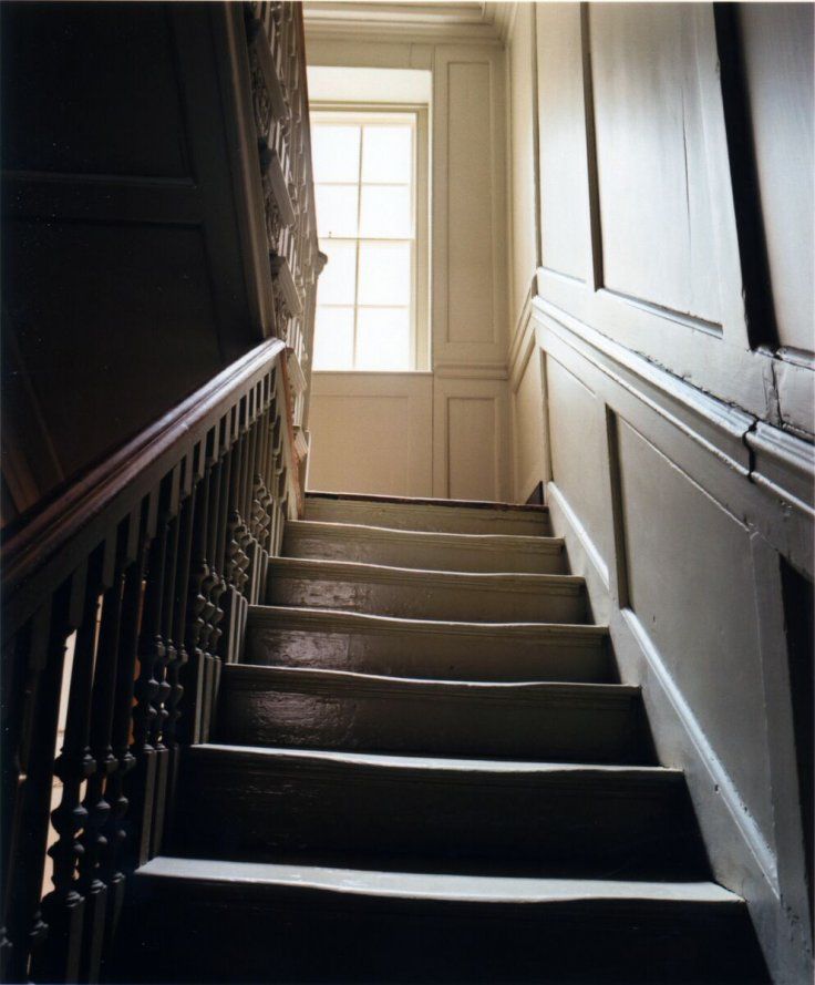 Benjamin Franklin House stairs