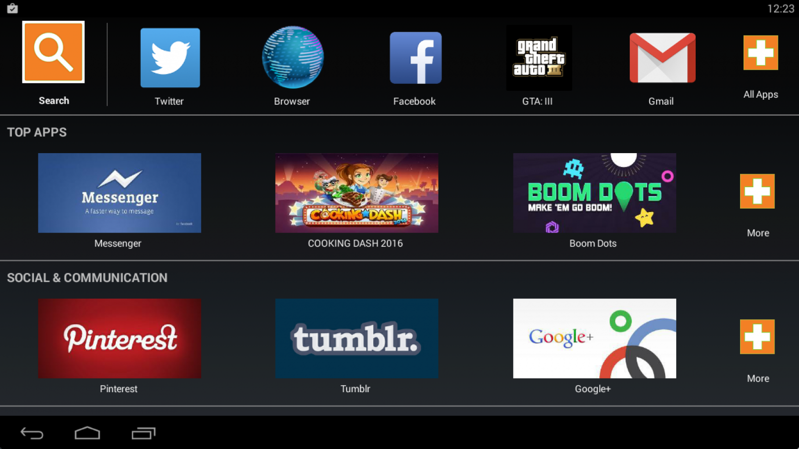 Android apps on Mac with Bluestacks