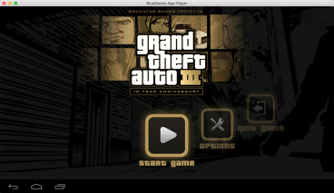 GTA 3 Android game on Mac