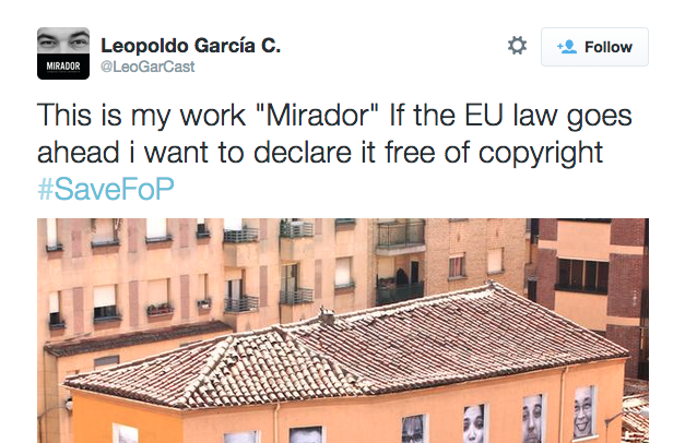 Photographer Leopoldo Garcia post to Twitter