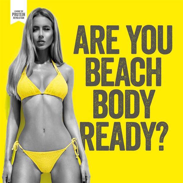 Kinder Garden: Protein World's 'Are You Beach Body Ready' Advertising