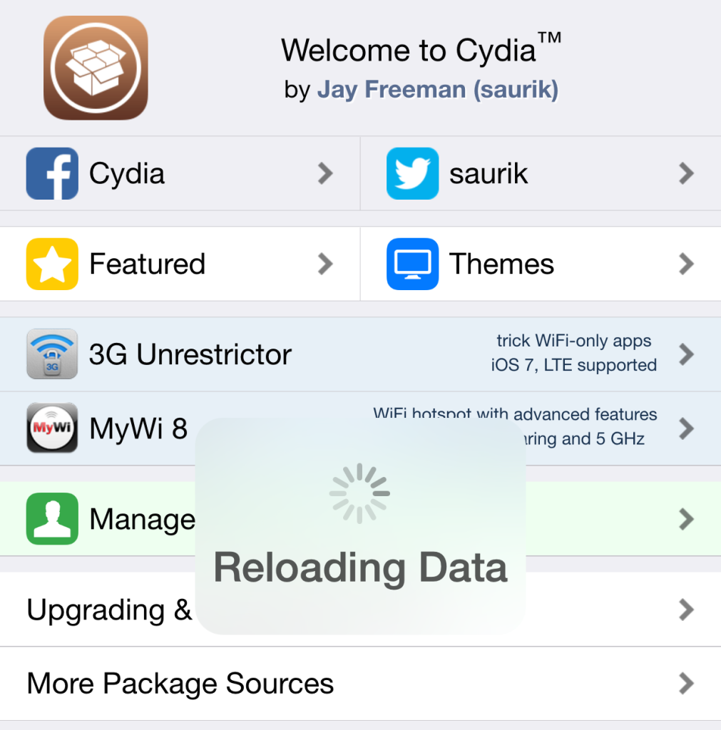 Codling for Cydia 1.1.19