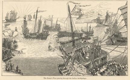 Fleet of Kublai Khan