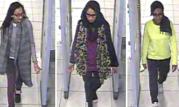 Bethnal Green academy schoolgirls flee to Syria