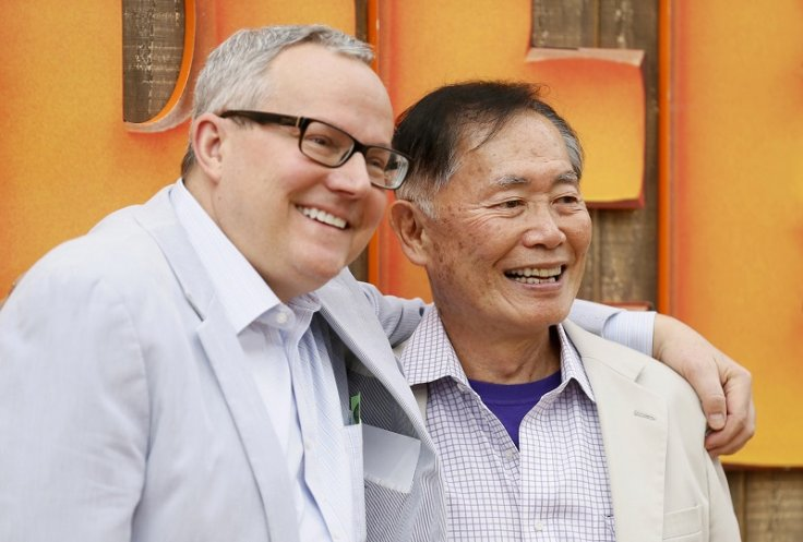 George Takei with partner