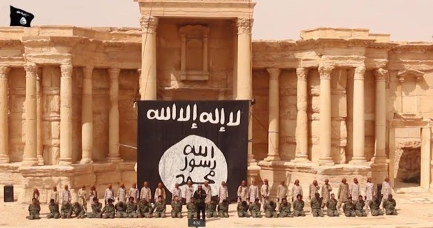 Isis mass execution in Palmyra, Syria