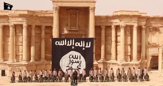Isis mass execution in Palmyra, Syria
