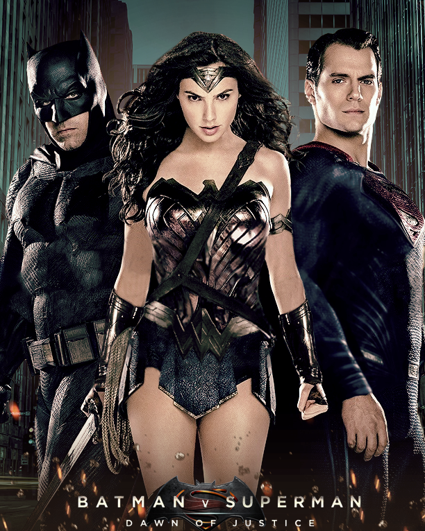 Watch Batman V Superman Comic Con Trailer Wonder Woman In Action Kryptonite And Lex Luthor Revealed
