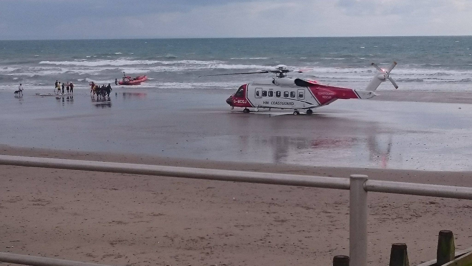 Tywyn drown hero rescue