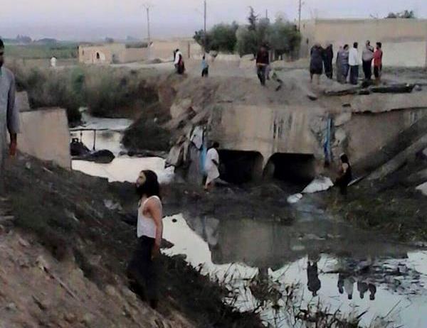 Raqqa bomb raid