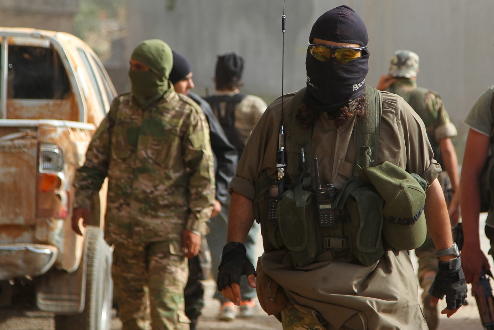 British Sas Given Free Rein In The Fight Against Isis In Syria