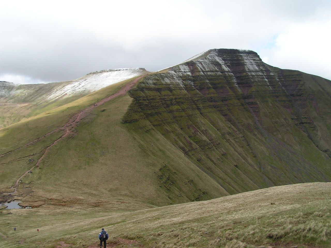 Pen y Fan Brecon lightning