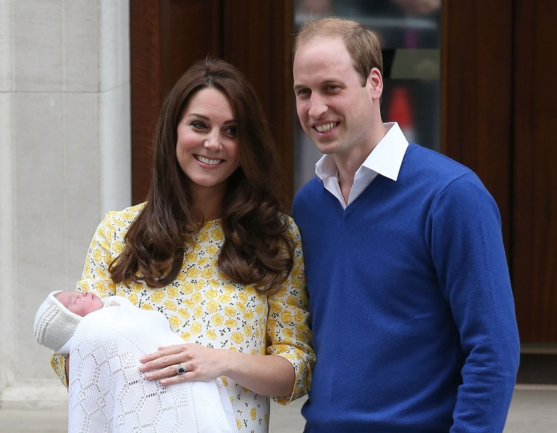 Princess Charlotte Christening Royal Baby 39 S 5 Godparents Named