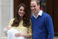 Will and Kate with Princess Charlotte