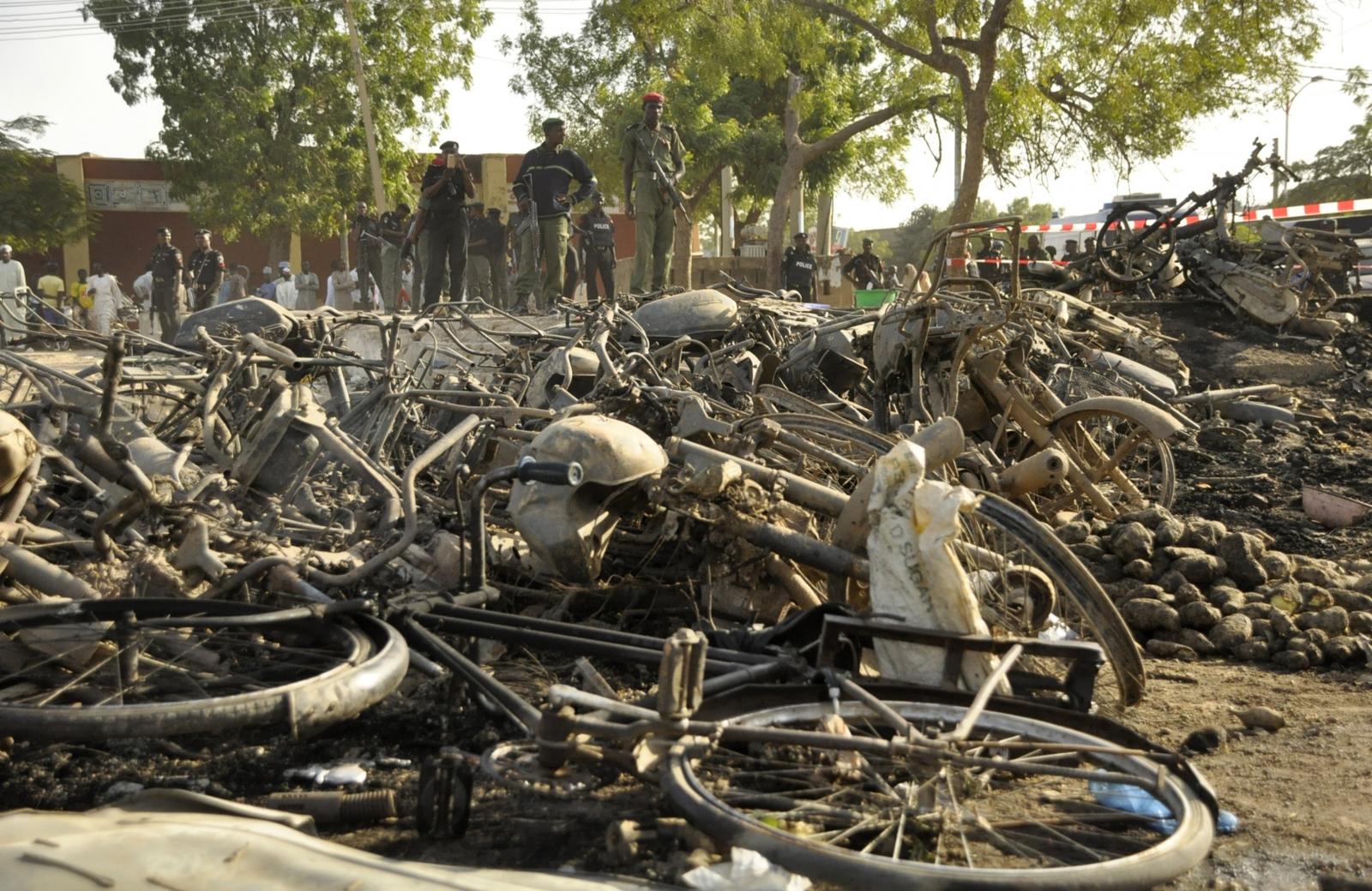 Nigeria twin blasts in Jos