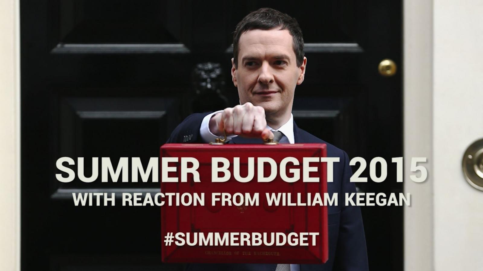 Summer Budget 2015: Follow IBTimes UK