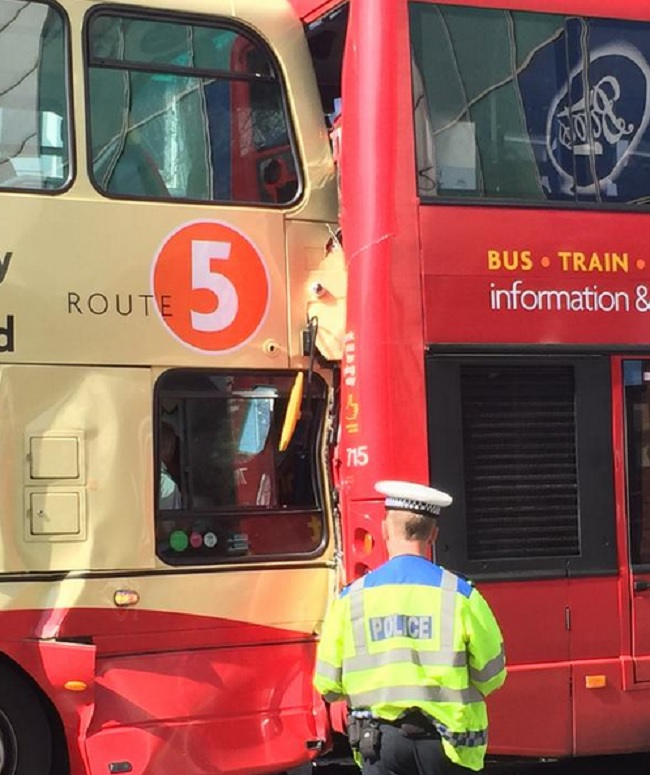 Brighton bus crash