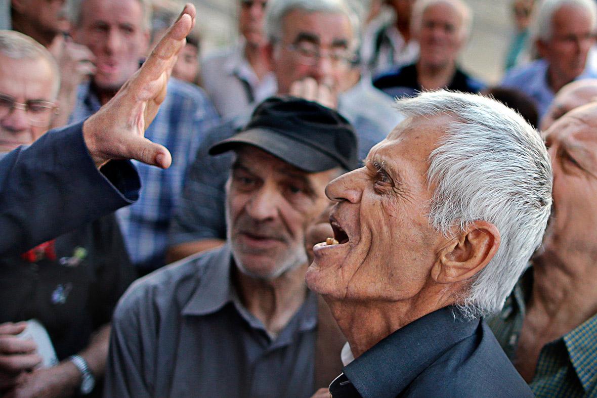 greece crisis: austerity