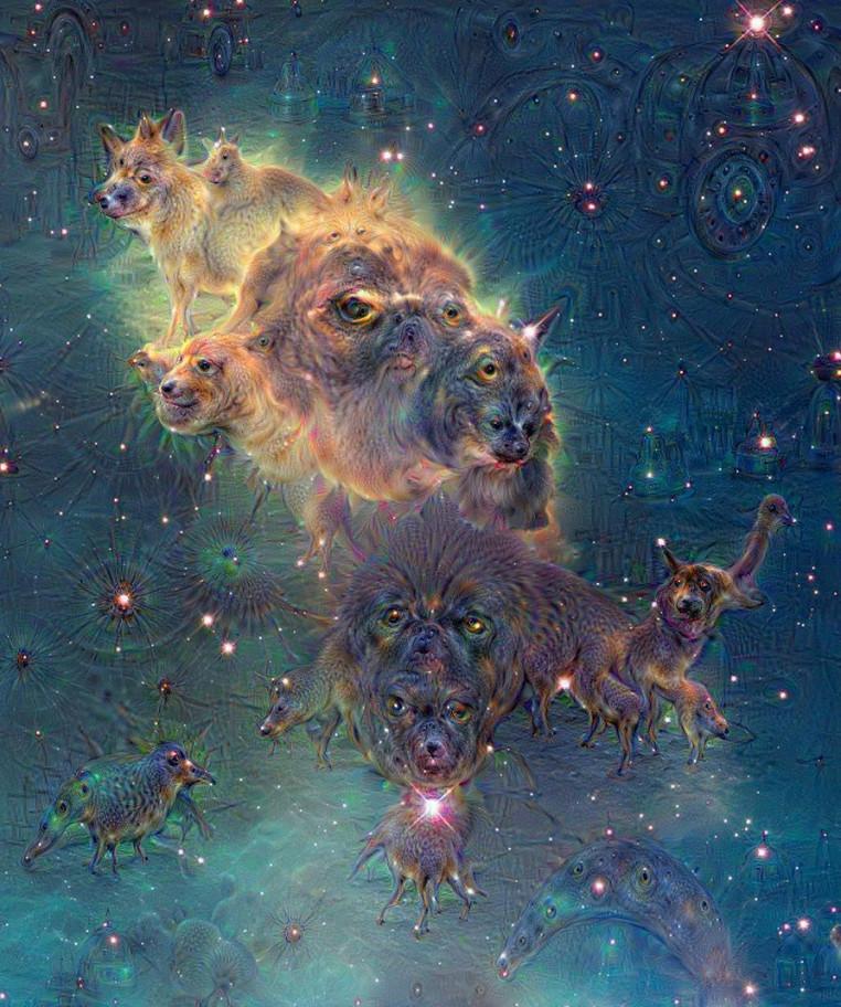 Nebula photograph captured by the Hubble Telescope