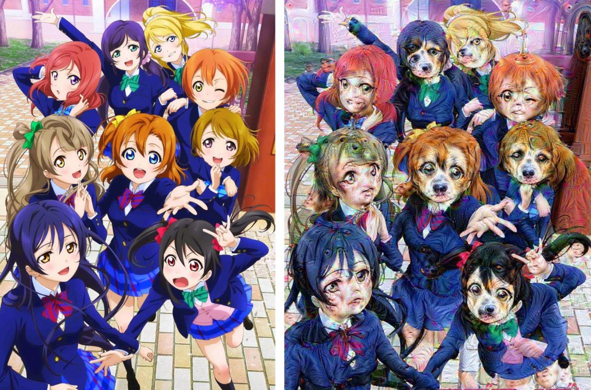 Love Live! Japanese schoolgirl idol anime series