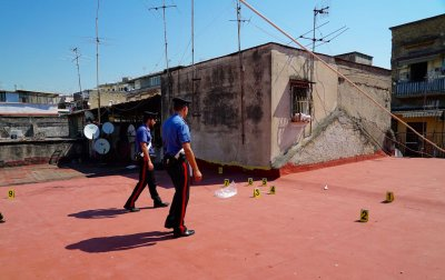 Mafia shooting range Borgo SantAntonio Abate