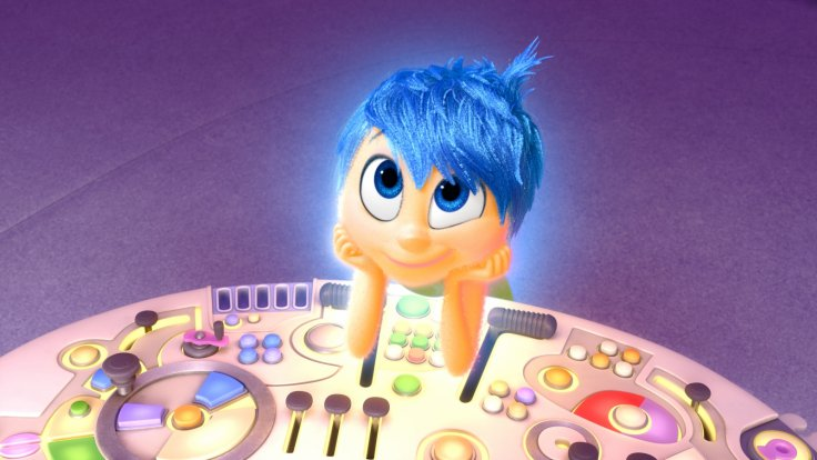 Amy Poehler voices Joy in Inside Out