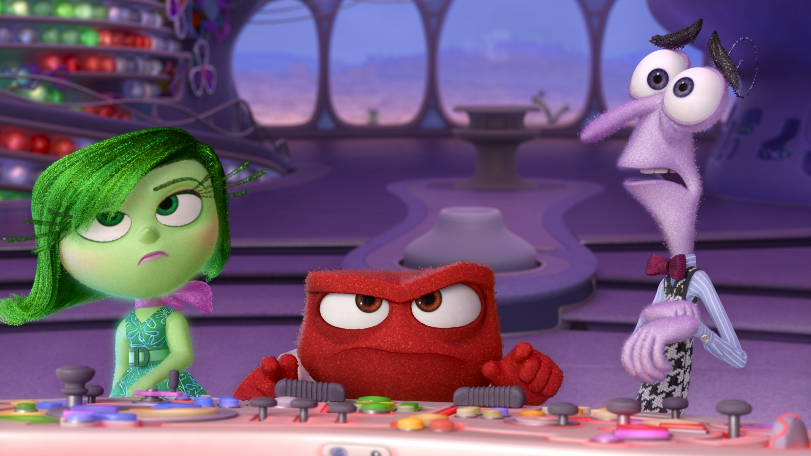 Disgust, Anger and Fear from Inside Out