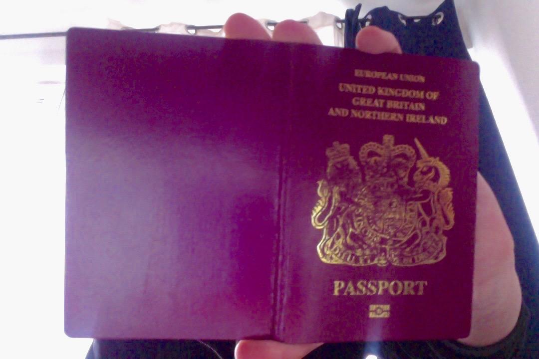 UK passport from dark web marketplace