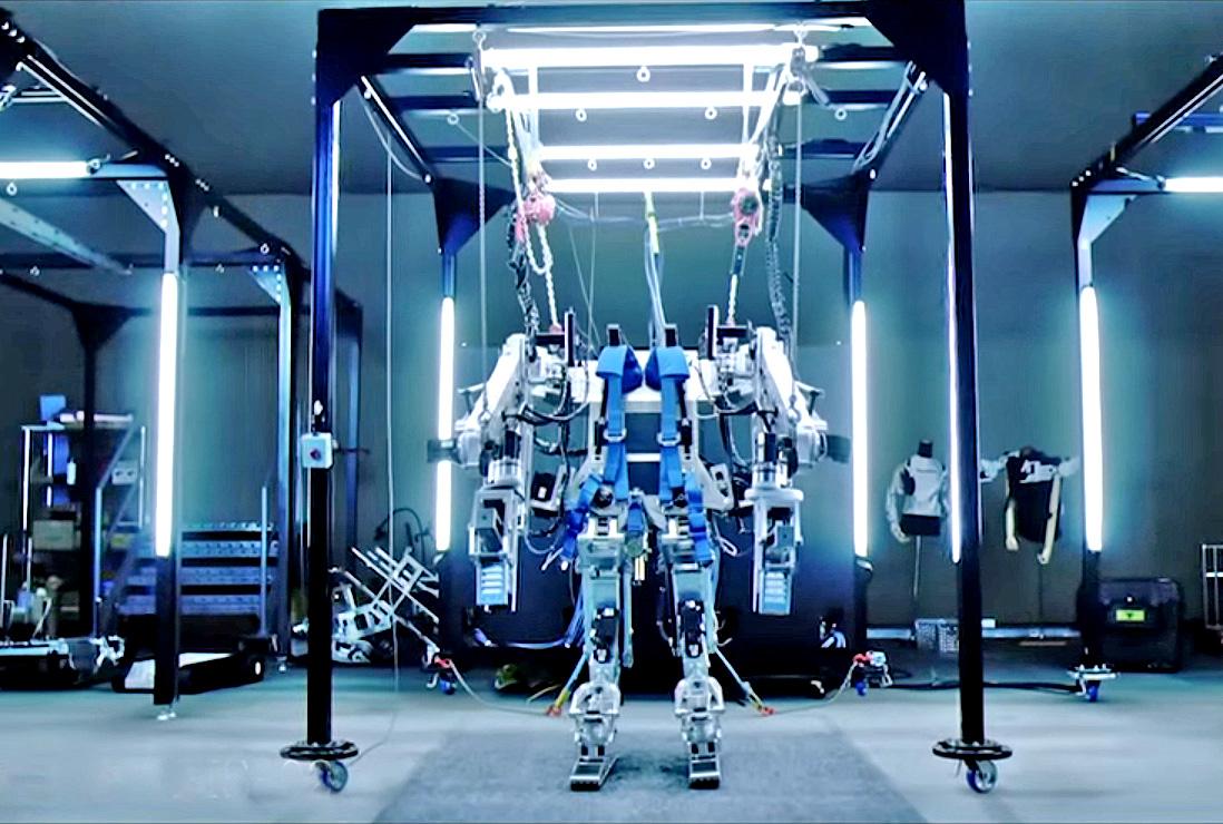 Panasonic Assist Suit AWN-03 exoskeleton suit